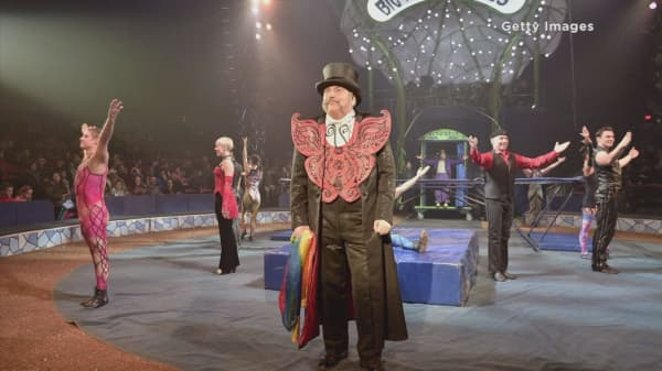 New York's Big Apple Circus files for bankruptcy protection