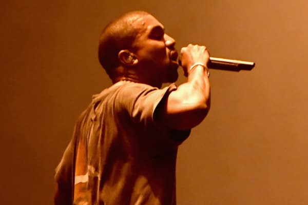 Kanye West performing in October 2016.