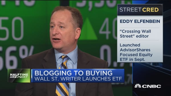 Blogging to buying: Wall Street writer launches ETF
