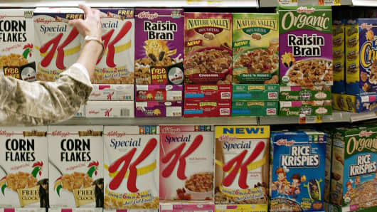 Kellogg Can't Get Millennials To Buy Enough Cereal Analyst Says Delectable Kellogg's Cereal Display Stand