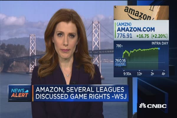 Amazon looks at streaming live sports