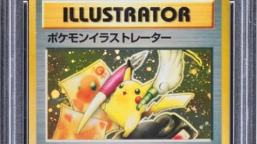 "Pokemon ""Pikachu Illustrator"" Trainer Promo Hologram Trading Card"