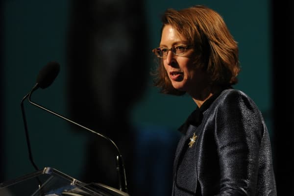 Abigail Johnson with Fidelity Investments.