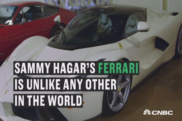 Sammy Hagar's Ferrari is unlike any other in the world