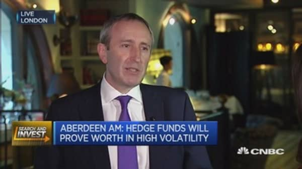 Hedge funds will prove worth in high volatility: Aberdeen AM