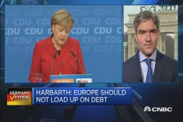 Europe should not load up on debt: Harbarth