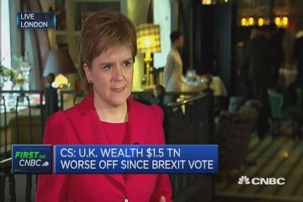 A woeful lack of Brexit planning: Nicola Sturgeon