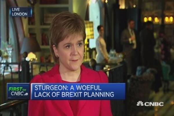 The UK is in uncharted territory: Nicola Sturgeon