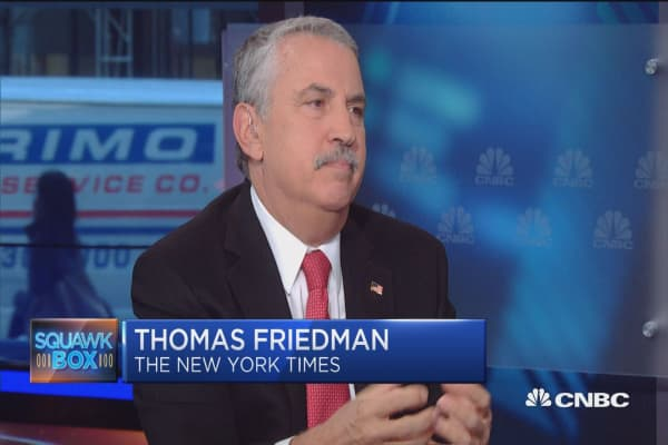 Friedman: Everything including politics has to move faster