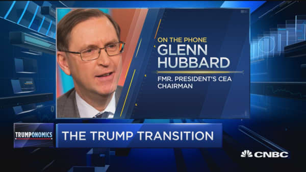Hubbard: Reasons to be optimistic in Trump's policies