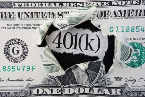 401(k) dollar