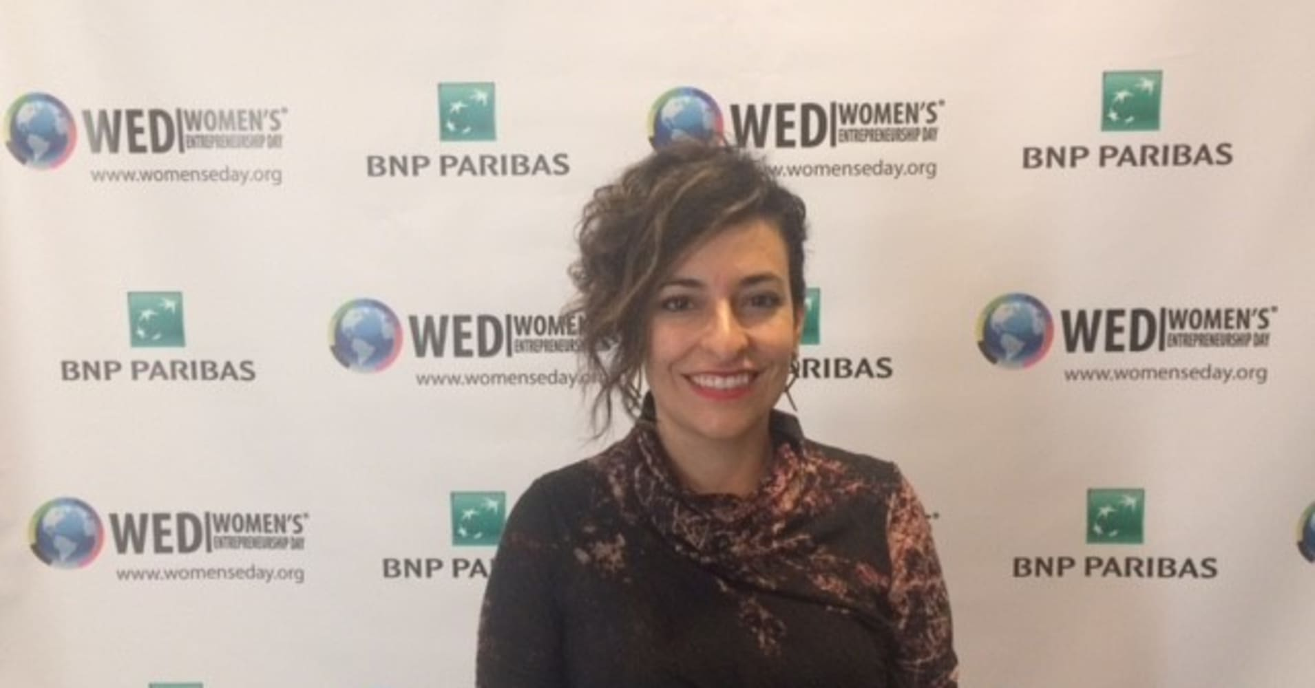 Entrepreneurs like Monique Giggy gathered in New York City Friday for Women's Entrepreneurship Day at the United Nations.