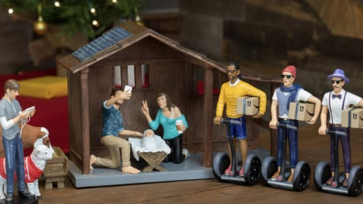 Hipster Nativity Set sells for $129.99.