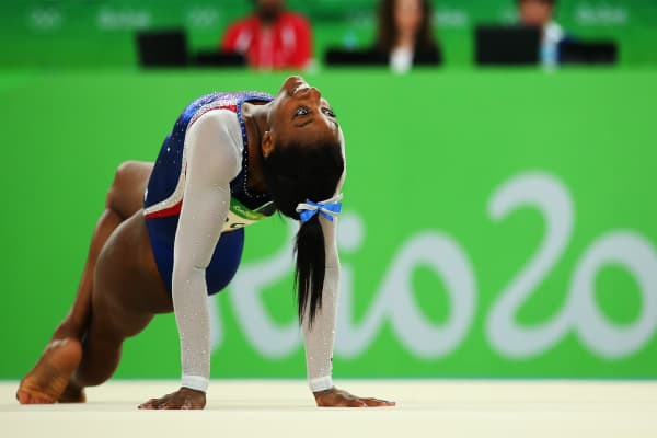Simone Biles reveals her personal pep talk before competing