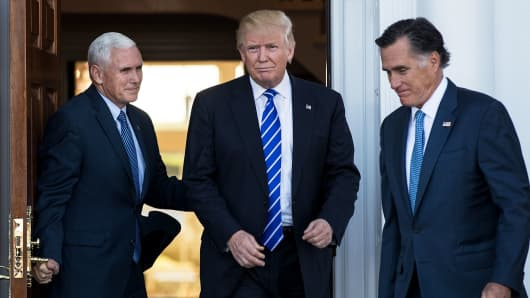 Market will pop if Trump appoints Romney to his cabinet—commentary