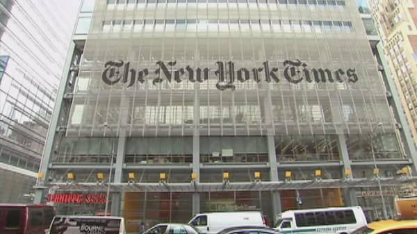 Trump's New York Times meeting now back on