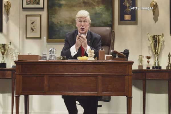Alec Baldwin and Donald Trump trade punches on Twitter