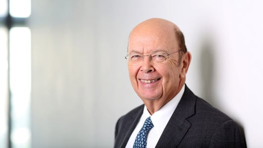 Wilbur Ross, U.S. billionaire, chairman and chief executive officer of WL Ross & Co. LLC.