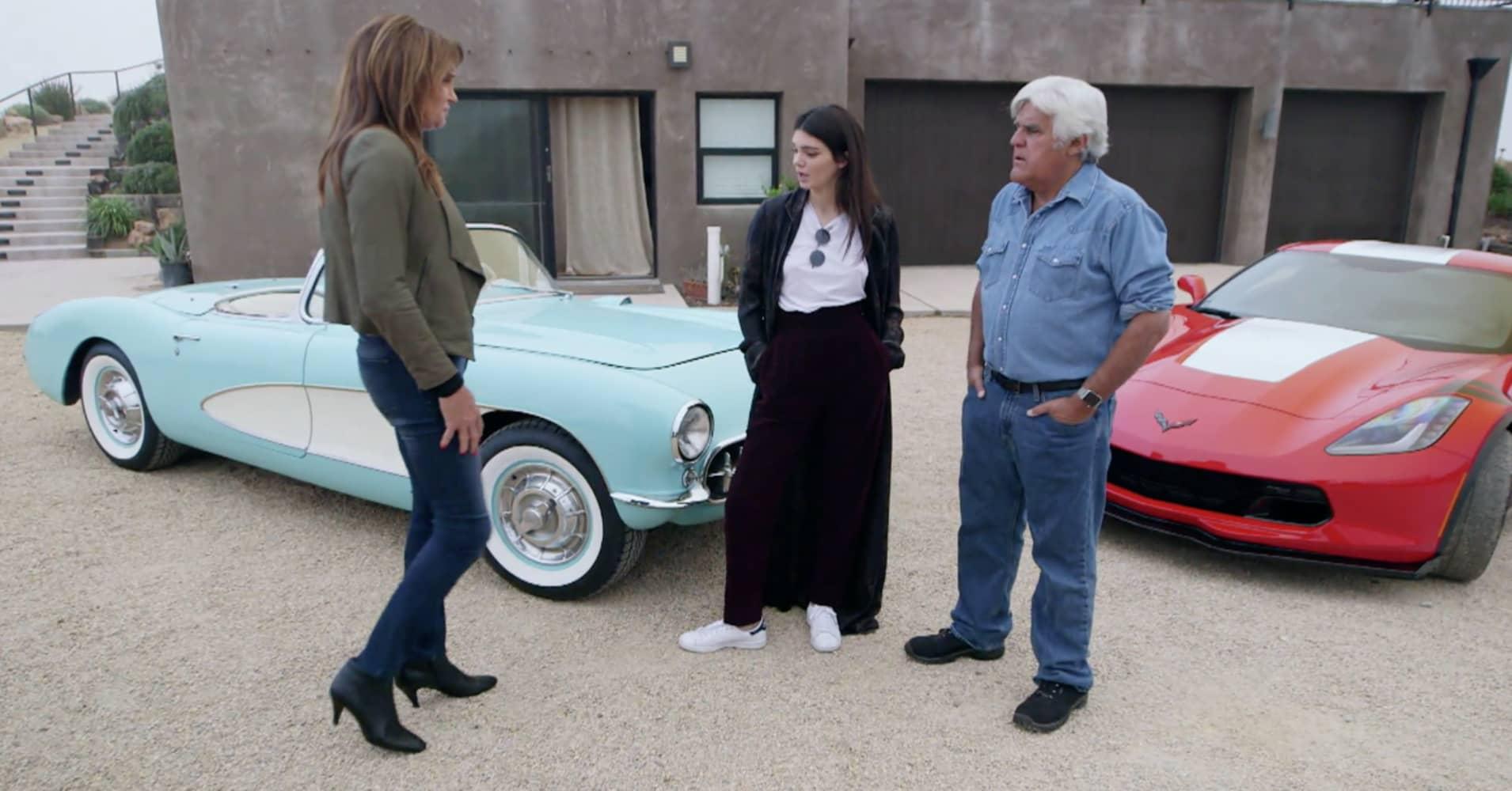 Driving A Racecar >> Jay Leno's Garage: 'Old School vs New School' Gallery