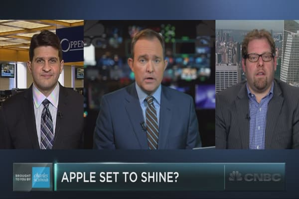 Apple poised for a comeback?
