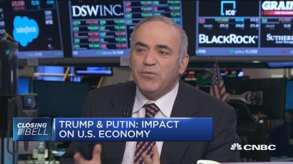 Kasparov on Trump's relationship with Putin