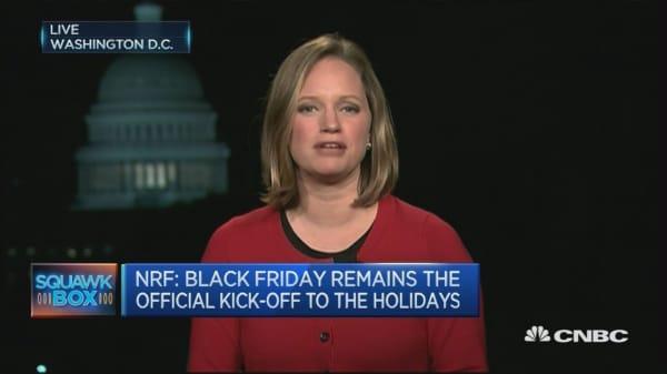 Black Friday still a tradition, but different: NRF
