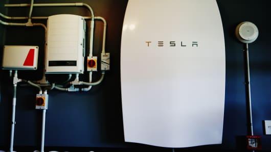The Tesla Powerwall battery