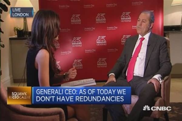 We need stability in Italy: Generali CEO