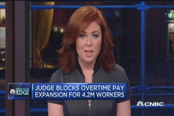 Executive Edge: Overtime pay blocked