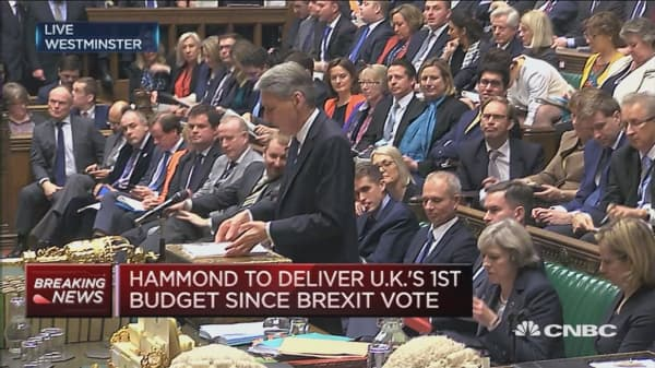 UK economy's resilience confounded commentators: Hammond