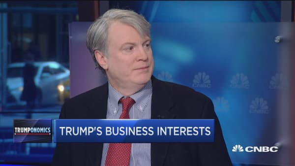Trump's business interests could 'potentially' be a big problem: Holman Jenkins