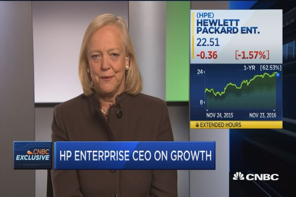 HPE's Whitman: Hybrid IT is our strategy going forward