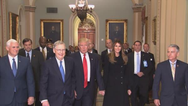 Donald Trump less critical of Paris climate accord
