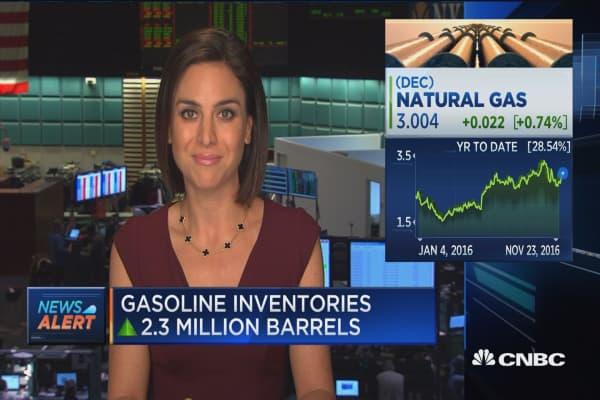 Crude oil inventories down 1.26M barrels