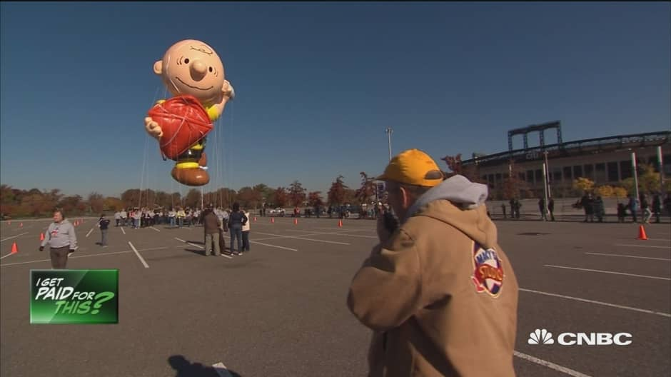 Meet the man behind Macy's Thanksgiving Day Parade