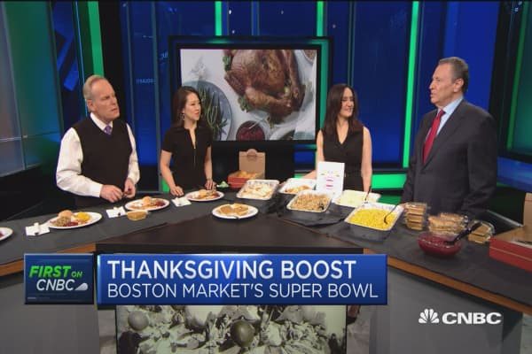 Thanksgiving is the 'Super Bowl' for Boston Market