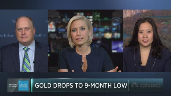 Gold plunges – here's why it could fall even lower