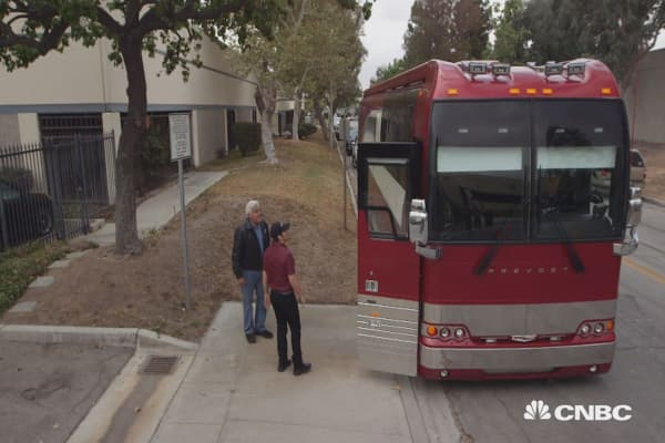 Peek inside Brad Paisley's $1.74m custom tour bus