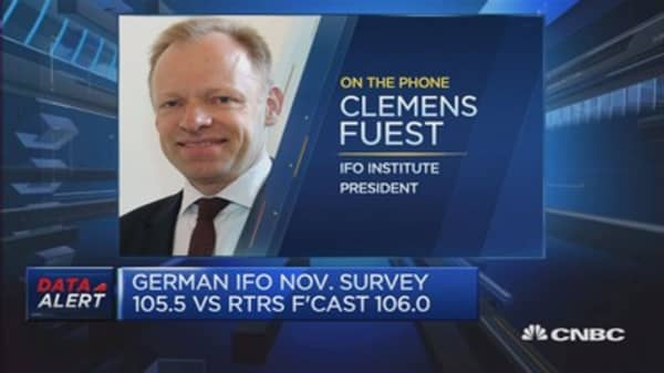 German companies unfazed by Trump's presidency