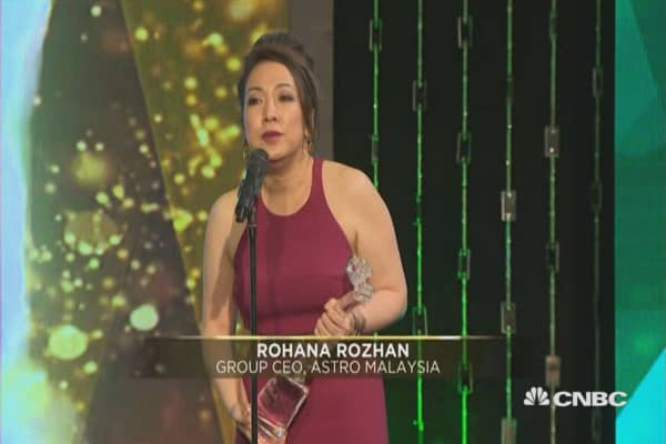 Asia Talent Management Award: Rohana Rozhan