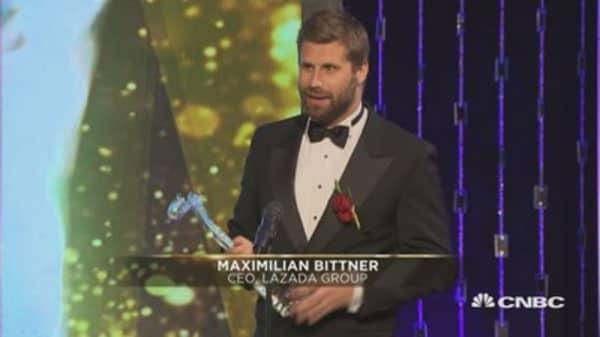 Asia Disruptor of the Year Award: Maximilian Bittner