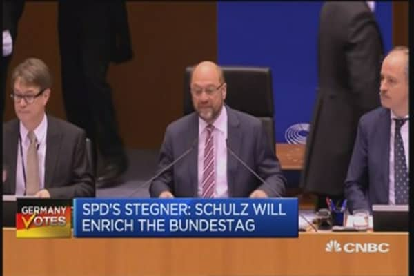 Schulz will bring his passion to Berlin: SPD's Stegner
