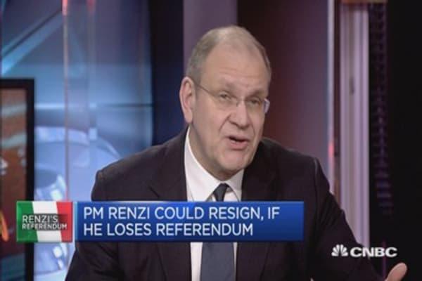 25% chance that Renzi remains PM, if 'No' wins: LC Macro Advisors