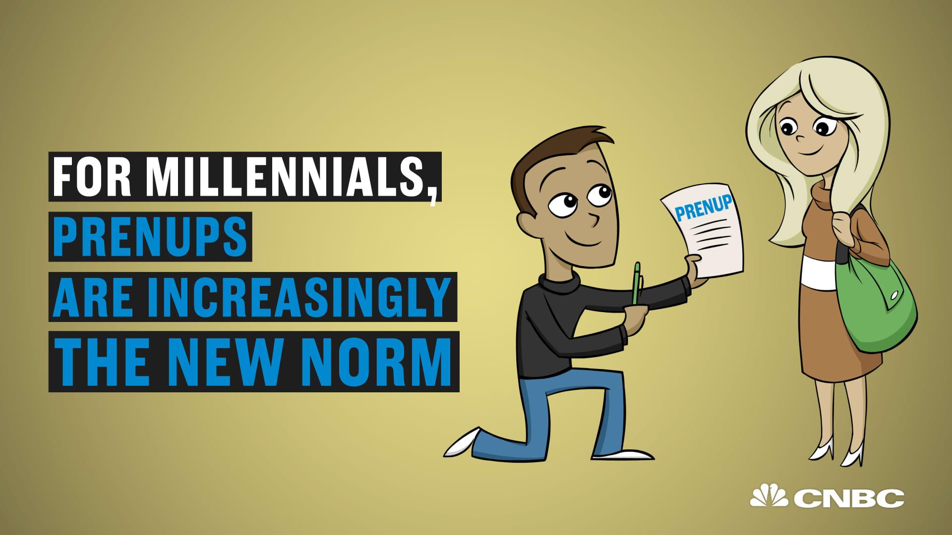 More Millennials Sign Prenups Before Marriage