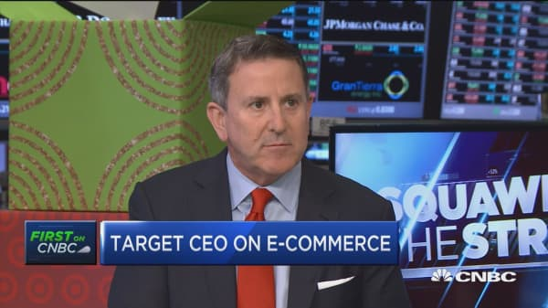 Target CEO: Yesterday biggest day in company history online