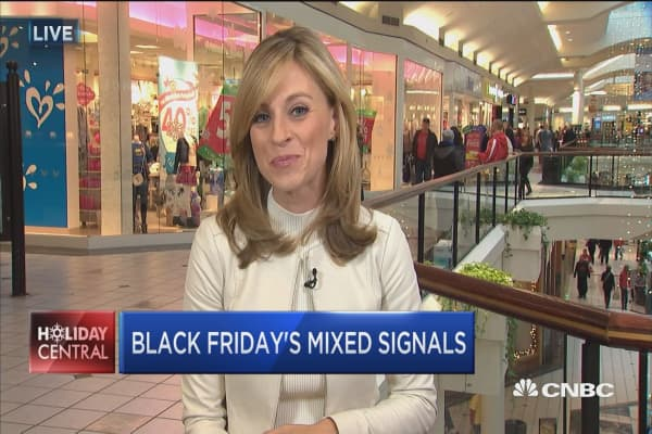 Retail analysts seeing mixed signals on Black Friday