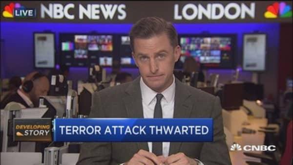 Paris terror attack thwarted