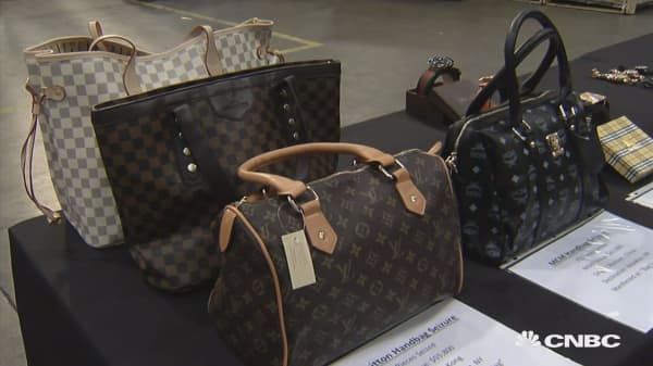 Be on the lookout for counterfeit goods