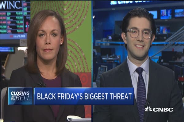 What's the biggest threat to Black Friday?