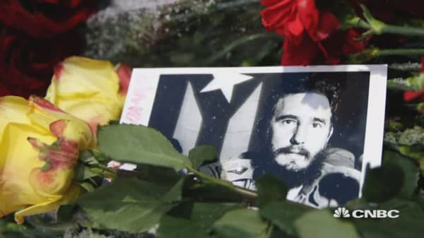 Cubans prepare for Castro memorial